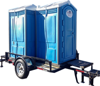 Rent Toilets on Trailers in Ohio